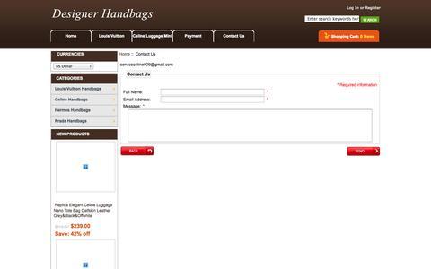 Screenshot of Contact Page cognicient.com - Contact Us : - captured Oct. 27, 2014