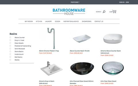 Hand Basin, Hand Basins and Handbasin | Bathroomware House