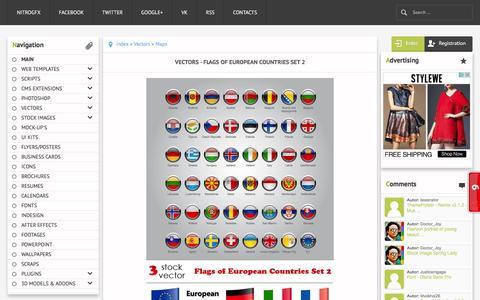 Screenshot of Maps & Directions Page nitrogfx.com - Maps В» NitroGFX - Download Unique Graphics For Creative Designers - captured May 9, 2016