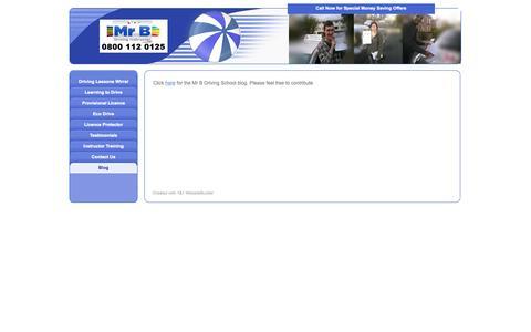 Screenshot of Blog mrb-drivingschool.co.uk - Blog - Driving Lessons Wirral - Wirral Driving School. Call 0800 112 0125 NOW - captured Oct. 26, 2014