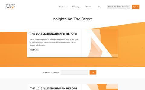 Screenshot of Blog streetcontxt.com - Blog – Street Contxt - captured Dec. 11, 2018