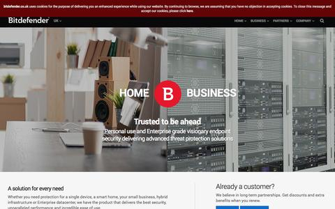 Bitdefender UK - Cybersecurity Solutions for Business and Personal Use