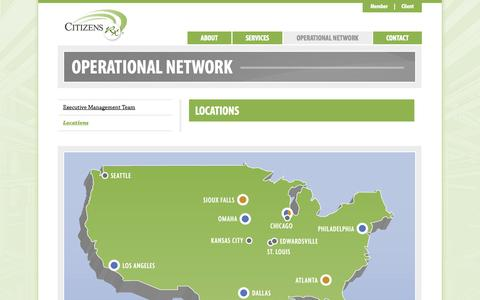 Screenshot of Locations Page citizensrx.com - Locations - Citizens Rx - captured Sept. 13, 2014