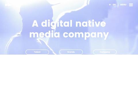 Screenshot of Home Page divimove.com - Welcome to Divimove - captured Nov. 23, 2016