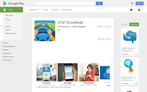 AT&T DriveMode - Apps on Google Play