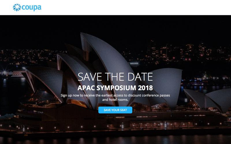 Inspire'18 APAC | Save the Date