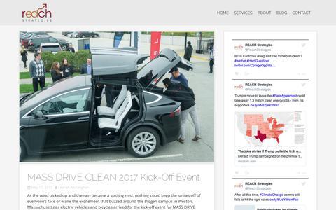 Screenshot of Blog reach-strategies.org - Blog – REACH Strategies - captured June 12, 2017