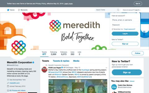 Meredith Corporation (@MeredithCorp) | Twitter