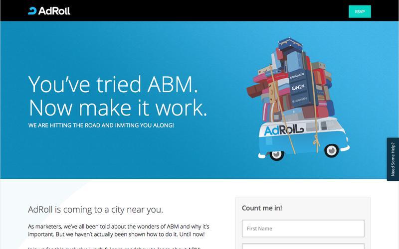 AdRoll ABM RoadShow