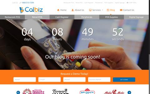 Screenshot of Blog calbiz.com - POS Tablets and Touch-Screen Systems for Restaurants in Tarzana - captured July 11, 2017