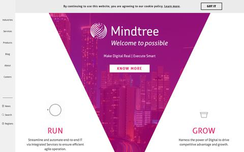 Mindtree | Corporate IT Services & Technology Consulting