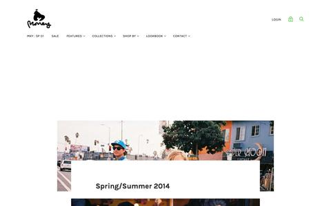 Spring/Summer 2014 — MONEY