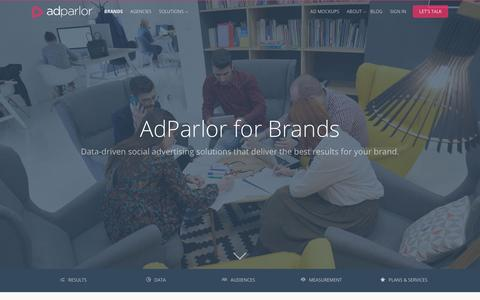 Brands | AdParlor