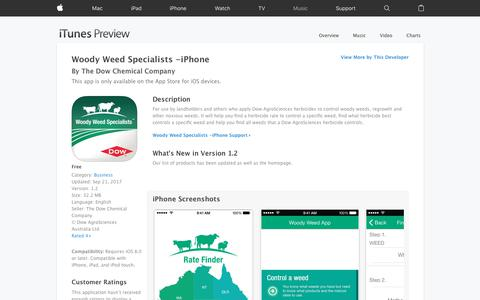 Woody Weed Specialists -iPhone on the App Store