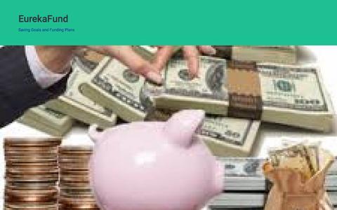 Screenshot of Terms Page eurekafund.org - Eureka Fund Terms of Service Agreement – EurekaFund - captured May 21, 2017