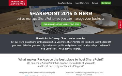 Screenshot of Team Page rackspace.com - Meet our SharePoint Experts - captured Nov. 17, 2016