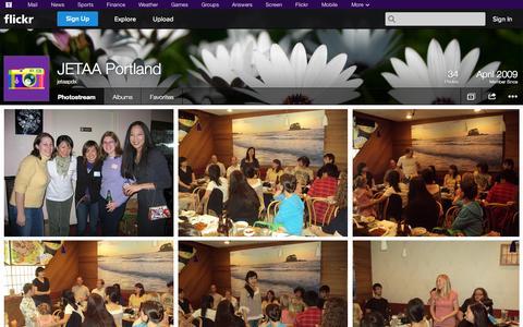 Screenshot of Flickr Page flickr.com - Flickr: jetaapdx's Photostream - captured Oct. 23, 2014