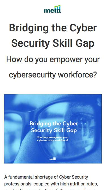 [ePaper] Cyber Security Skill Gap