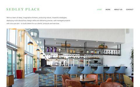 Screenshot of Home Page sedley-place.com - Sedley Place - captured Nov. 12, 2018