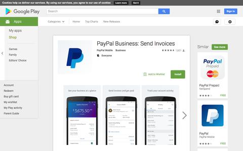 PayPal Business: Send Invoices - Android Apps on Google Play
