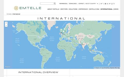 Screenshot of Contact Page emtelle.com - International - Emtelle - captured Dec. 9, 2015