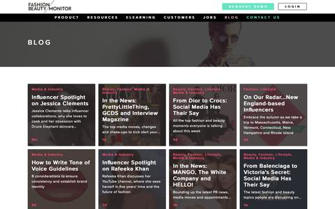 Screenshot of Blog fashionmonitor.com - Fashion Monitor: Blog - captured Nov. 6, 2018