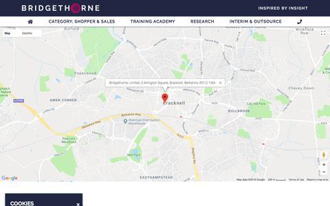 Screenshot of Contact Page bridgethorne.com - Contact - Bridgethorne - captured Aug. 3, 2018