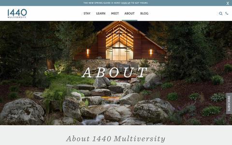 About - 1440 Multiversity