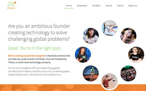 muru-D startup accelerator programs help founders go global faster