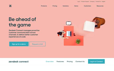 Customer Engagement & Retention Software with Zendesk Connect