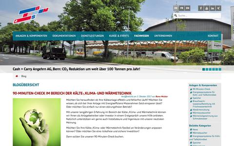 Screenshot of Blog bmspower.com - Blog   BMS-Energietechnik AG - captured Oct. 9, 2017