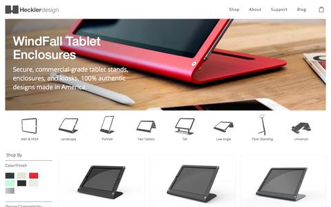 Tablet & iPad Enclosures, Wall Mounts & Stands | Heckler Design