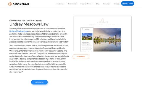 Lindsey Meadows Law | Smokeball Legal Practice Management Software