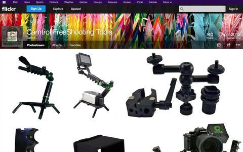 Screenshot of Flickr Page flickr.com - Flickr: Camtrol's Photostream - captured Oct. 22, 2014