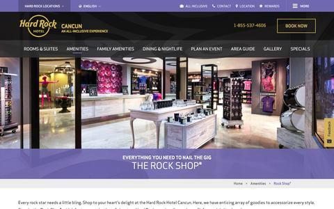 Rock Shop® - Shopping at Hard Rock Hotel Cancun