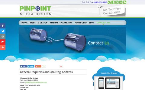 Screenshot of Contact Page Team Page pinpointmediadesign.com - Customer Resource Center, Login, Downloads, Invoices - captured June 27, 2018