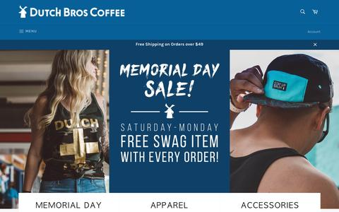 Dutch Bros. Coffee - DutchWear Online Store