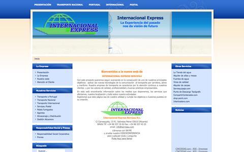 Screenshot of Home Page servipau.com - Grupo de Empresas Servipau S.L. - captured Sept. 12, 2015