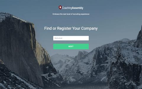 Screenshot of Pricing Page coachingassembly.com - Coaching Assembly - captured Nov. 7, 2016