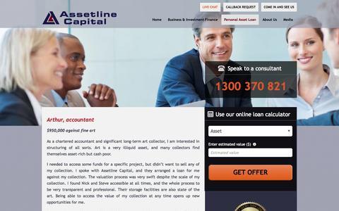 Screenshot of Testimonials Page assetline.com.au - Testimonials | Assetline Capital - captured Nov. 4, 2014