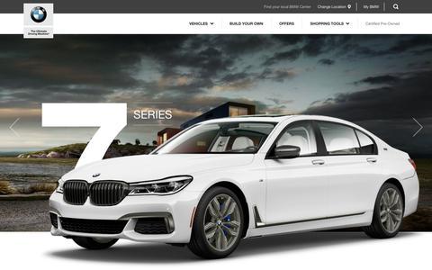 Screenshot of bmwusa.com - BMW 7 Series- BMW USA - captured Dec. 21, 2017