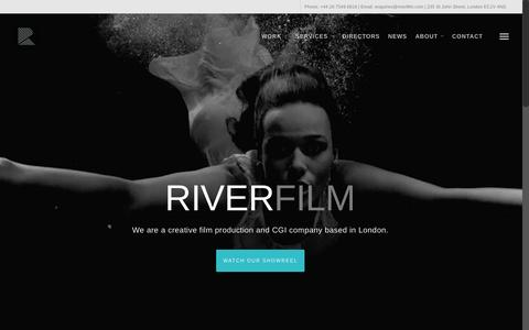 River Film – Film Production Company London