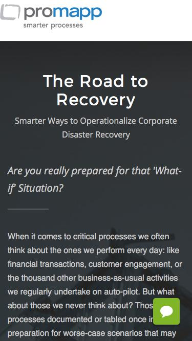 Webinar: The Road to Recovery