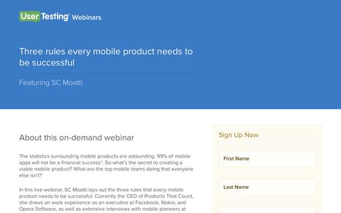 usertesting com's Web Marketing Designs | Crayon