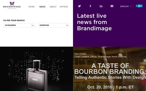 Screenshot of Press Page brand-image.com - Branding News | Brandimage - captured Nov. 21, 2016