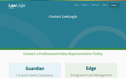Contact LawLogix | LawLogix.com