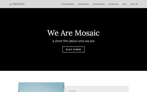 Home — Mosaic