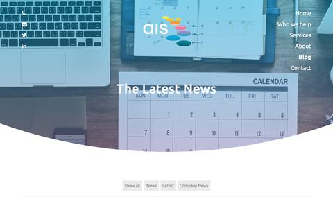 Screenshot of Blog ais-cfo-solutions.com - Blog | AIS Consulting - captured July 31, 2018