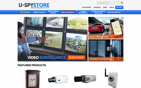 Screenshot of Home Page uspystore.com - Home page - captured Sept. 19, 2014