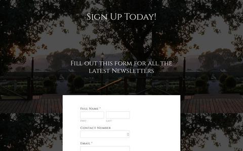 Screenshot of Signup Page valverde.co.za - Sign Up Page Valverde Eco Hotel - captured Nov. 5, 2017